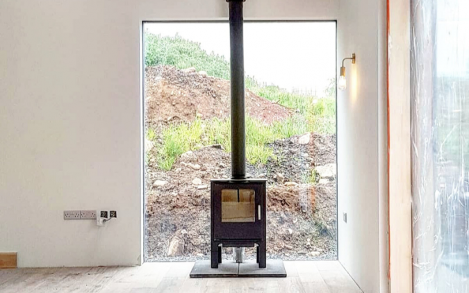 Gareth's self-build home flooded with natural light