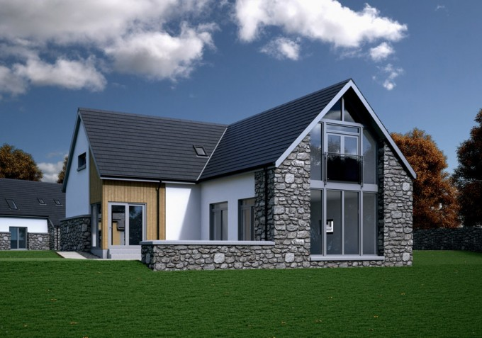 3d self-build home visualisation
