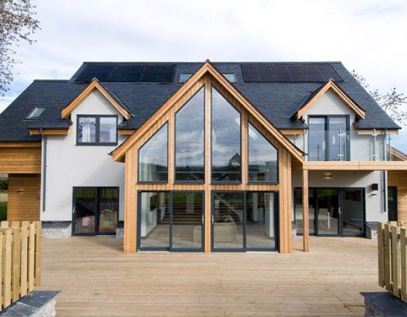 Scotframe timber home